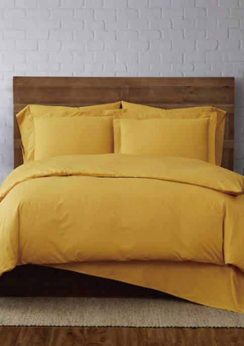 Brooklyn Loom Classic Cotton Duvet Set