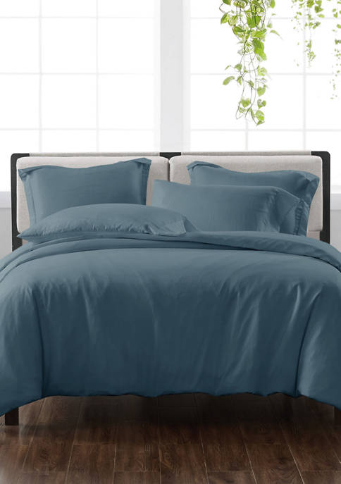 Cannon Heritage Solid Duvet Cover Set