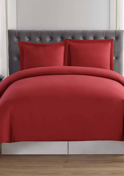 Everyday Solid Duvet Cover Set