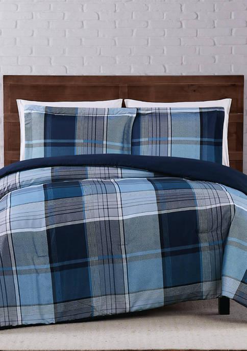 Trey Plaid Comforter Set