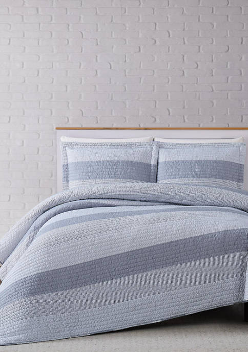 Multi Stripe Quilt Set