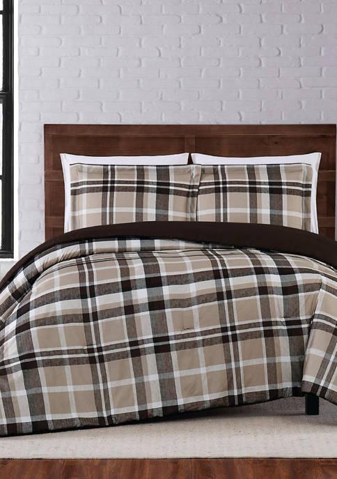 Paulette Plaid Comforter Set