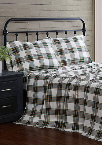 London Fog Flannel Sheet Set Belk