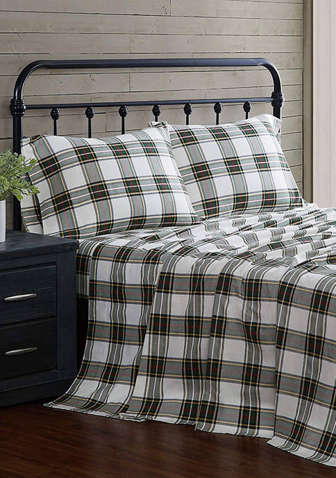 London Fog® Flannel Sheet Set