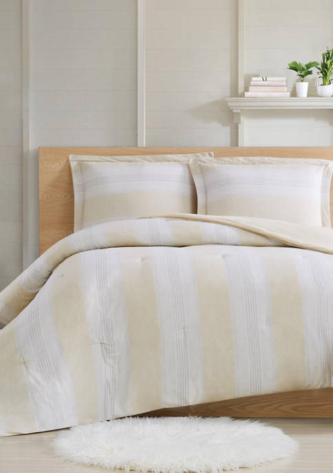 Cottage Classics™ Farmhouse Stripe Comforter Set