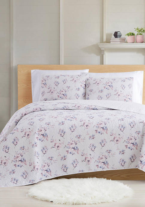 Cottage Classics™ Rose Dusk Quilt Set