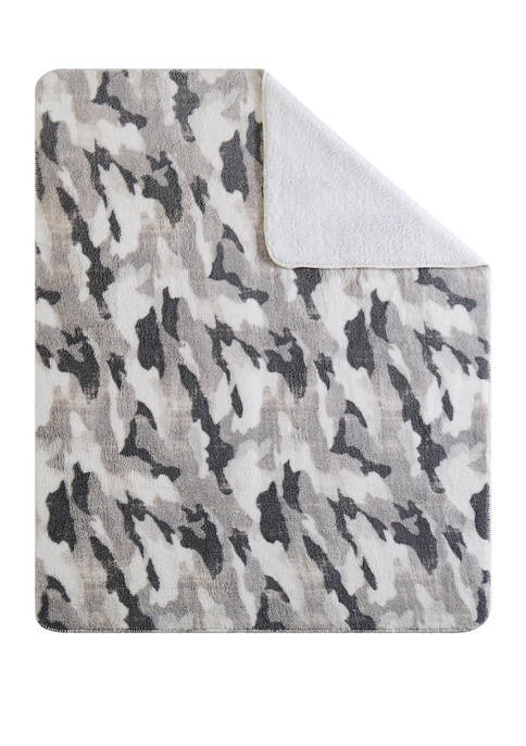 Camouflage Throw