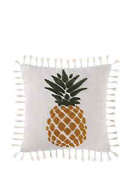 Sunwashed Isle Pineapple Pillow