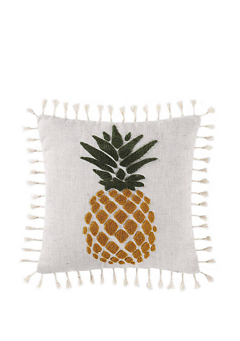 Sunwashed Isle Pineapple Pillow