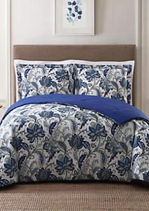Bettina Floral King Comforter Set