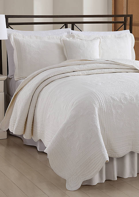 French Tiles Quilted Sham