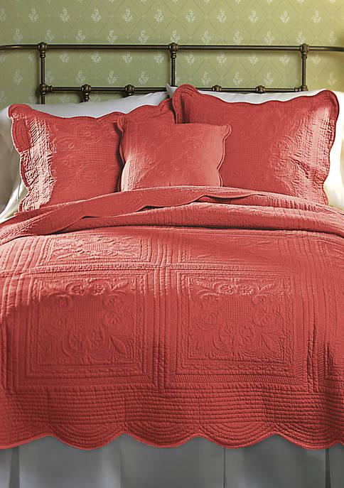 French Tile Throw Pillow