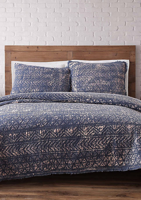 Brooklyn Loom Sand Washed King Quilt Set
