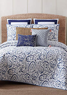 Oceanfront Resort Indienne Paisley Twin XL Quilt Set