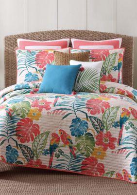 Oceanfront Resort Coco Paradise Quilt Set