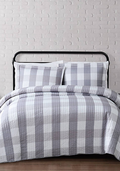 Truly Soft Everyday Buffalo Check Quilt Set Belk