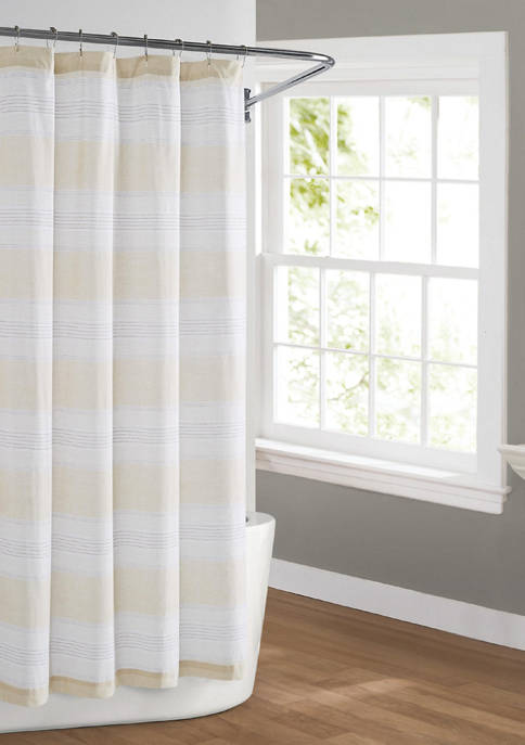 Cottage Classics™ Farmhouse Stripe Shower Curtain