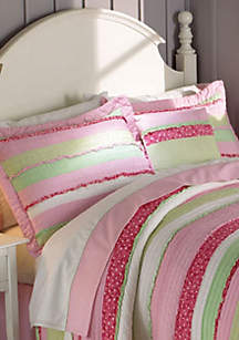 Anna's Ruffle Pink Window Valance 18-in. x 70-in.