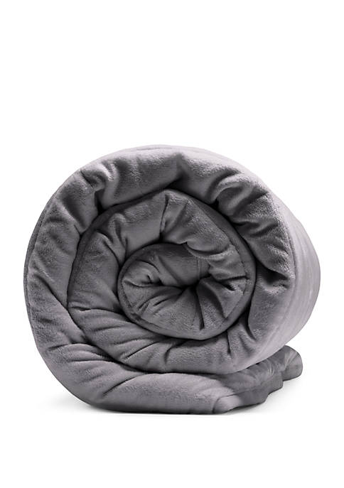 Sealy® Soft Plush 12 lb Quilted Weighted Blanket
