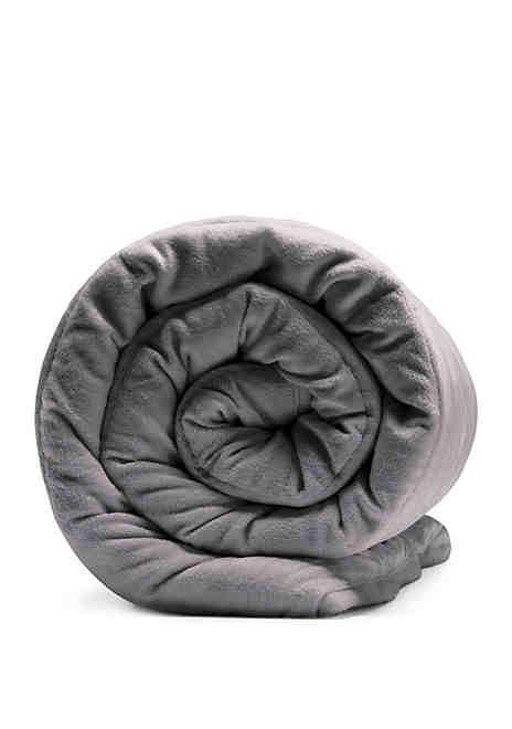 Sealy Soft Plush 12 lb Quilted Weighted Blanket