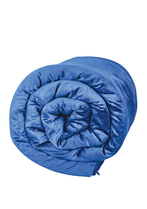 6 Pound Soft Plush Quilted Weighted Blanket