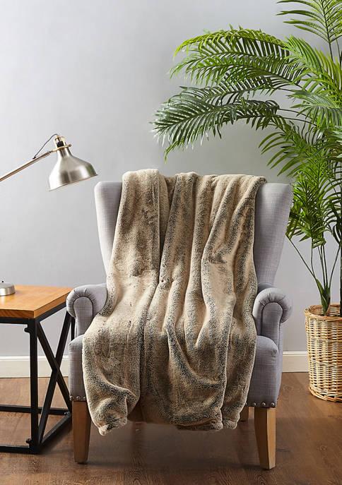 Ayesha Curry Faux Fur Throw Blanket