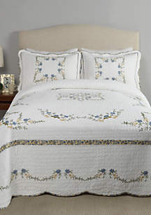 Modern Heirloom Collection Heather Bedspread