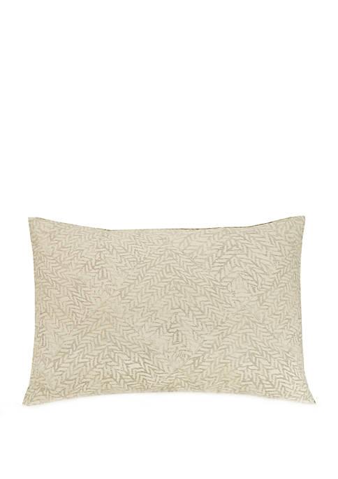 Basketweave Decorative Pillow
