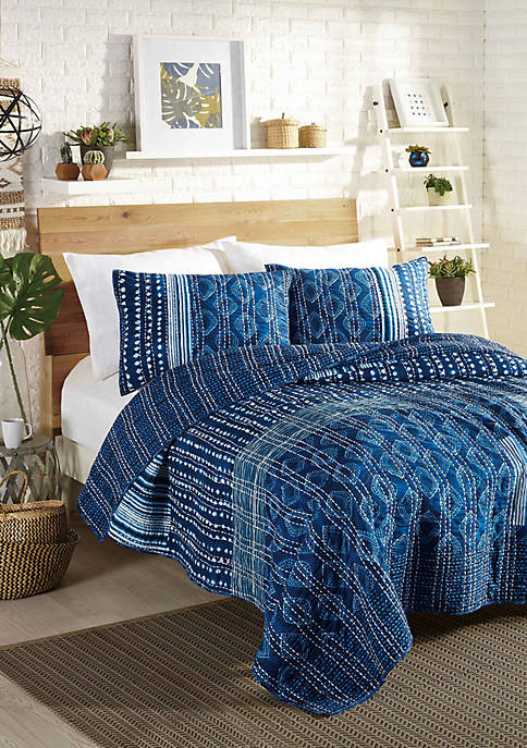 Makers Collective Avisa Quilt Set