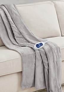 Solid Heated Throw