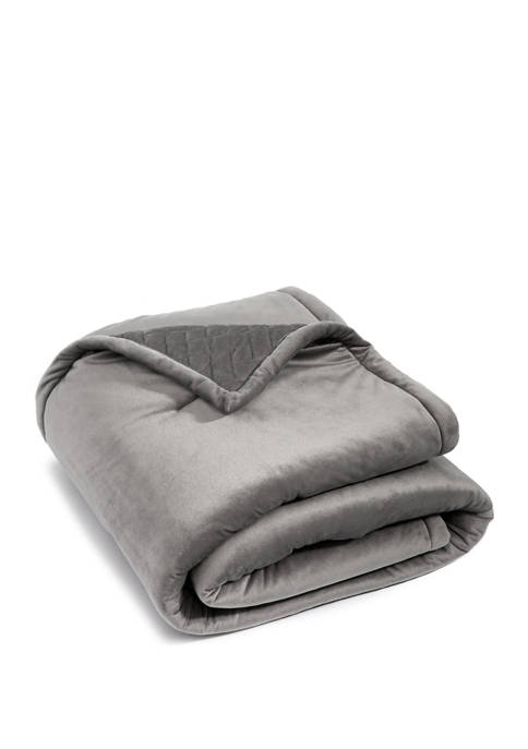 Velvet Down Throw Blanket