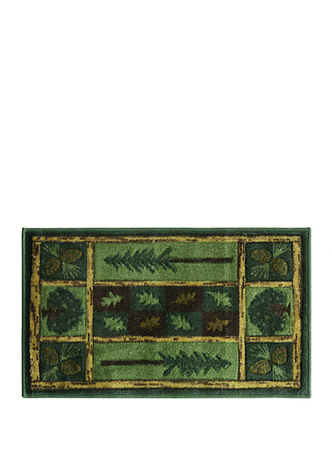 Studio Designs Carved Woodland Escape Accent Rug