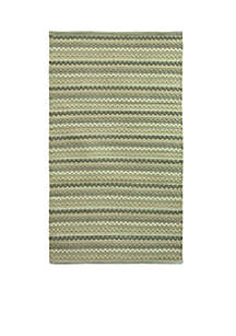 Textured Woven Neutral Accent Rug