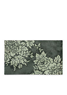 Bacova Big Blooms Chaslon Microfiber Accent Rug