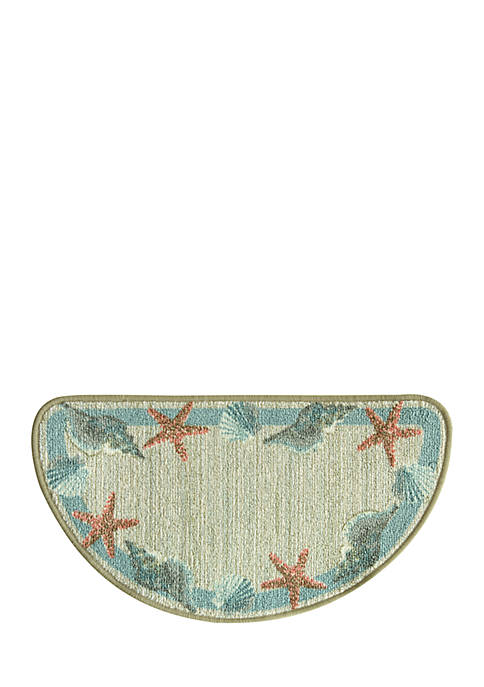 Bacova Star Shell Border Accent Rug