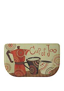 Standsoft Memory Foam Cup of Joe Kitchen Mat