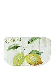 Standsoft Memory Foam Citron Slice Kitchen Mat