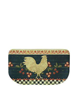 Standsoft Memory Foam Retro Rooster Kitchen Mat