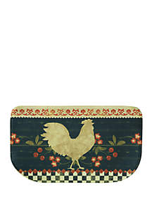 Standsoft Memory Foam Retro Rooster Kitchen Mat
