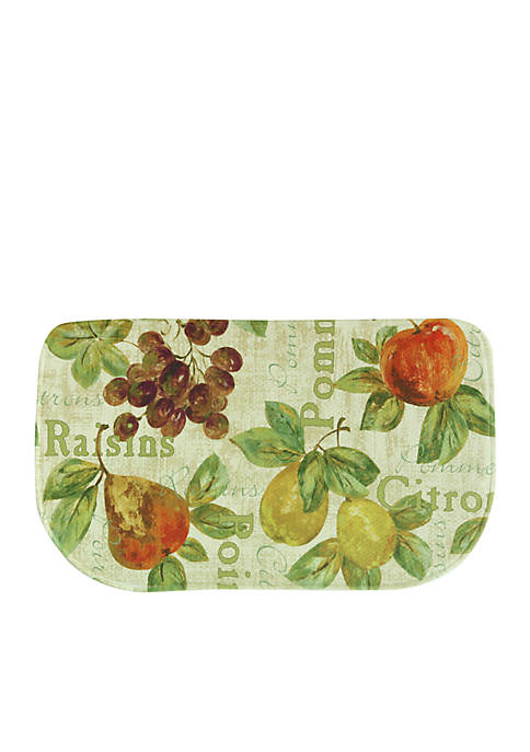 Bacova Rustic Fruit II Memory Foam Kitchen Slice