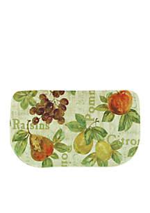 Rustic Fruit II Memory Foam Kitchen Slice Accent Rug 18-in. x 30-in.