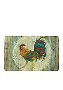 Bacova Rooster Strut Memory Foam Accent Rug 23-in. x 36-in.