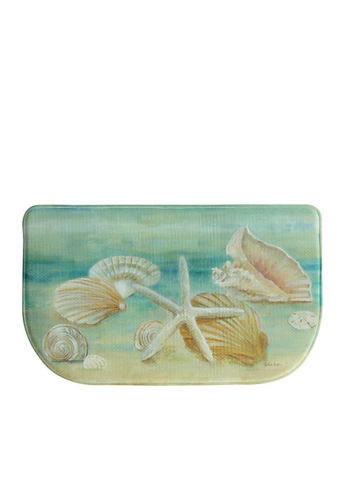 Bacova Horizon Shells Kitchen Rug
