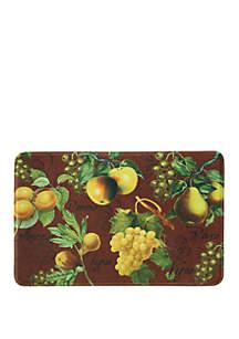 Standsoft Memory Foam Botanical Fruit Red Kitchen Mat
