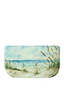 Standsoft Memory Foam Coastal Landscape Kitchen Mat