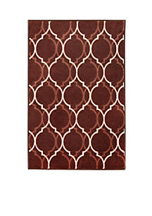 Accent Rugs. Bacova Cambridge Quarterfoil Accent Rug