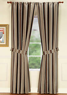 Hempstead Stripe Window Panel 50-in. x 95-in.
