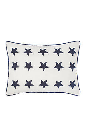 Nathan Embroidered Decorative Pillow
