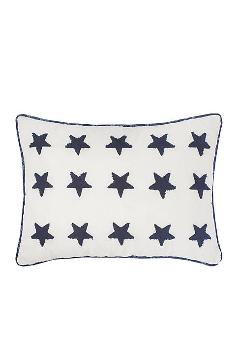 Nostalgia Home Nathan Embroidered Decorative Pillow