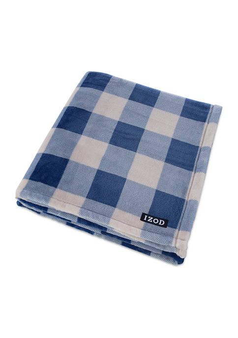 Anderson Plaid Throw Blanket